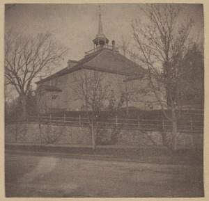 Hingham, Ship Church, 1681, 1747