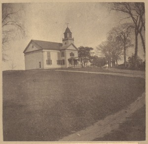 Burlington, First Church, about 1747