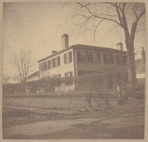 East Braintree, house once stood on Beacon Street, Boston