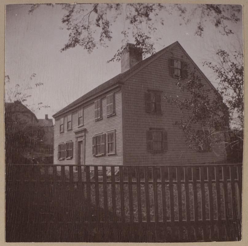 Plymouth, Howland House, 1666