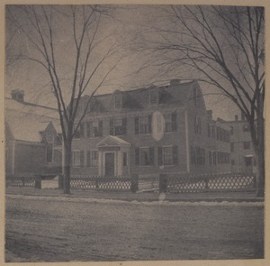 Cambridge, Brattle House