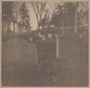 Woburn, First Burying Ground, 1640.