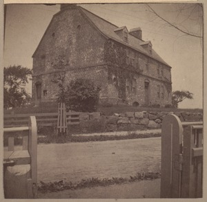Cradock House, 350 Riverside Ave., 1634.