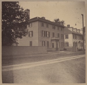 Portsmouth, Dr. Samuel Haven's house, about 1760.
