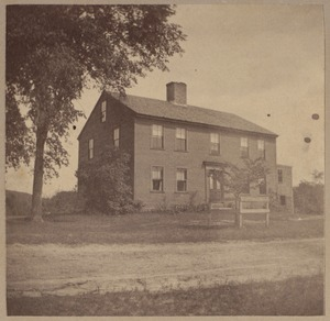 Wilton, N. H., Peabody house before 1770.
