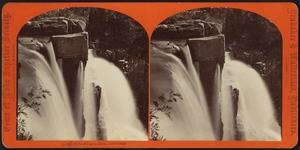 Falls of Pigeon River, the plunge
