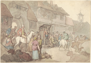 Cattle market at York