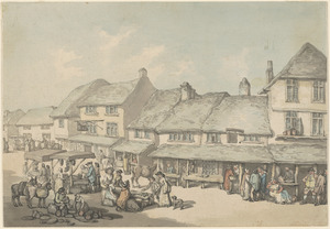 Market place, Cornwall