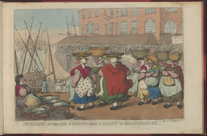 Procession of the Cod Company from St. Giles to Billingsgate