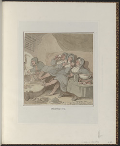 Collection English Caricature And Political Satire 18th And 19th