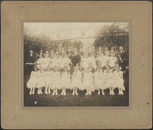 Immaculate Conception School, Class of 1918