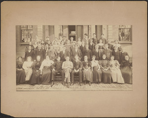 Class of 1897, Newburyport High and Putnam Free Schools, taken October 1896