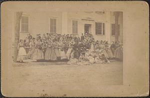 Female High School, Washington and Court Streets, May 18, 1867