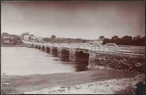 Parker River Bridge, Oldtown, looking north