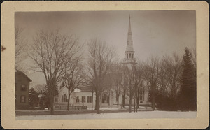 Belleville Church, before removal of steeple