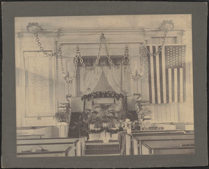 Interior of Old South Church, Federal St.