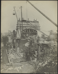 Chain Bridge Construction