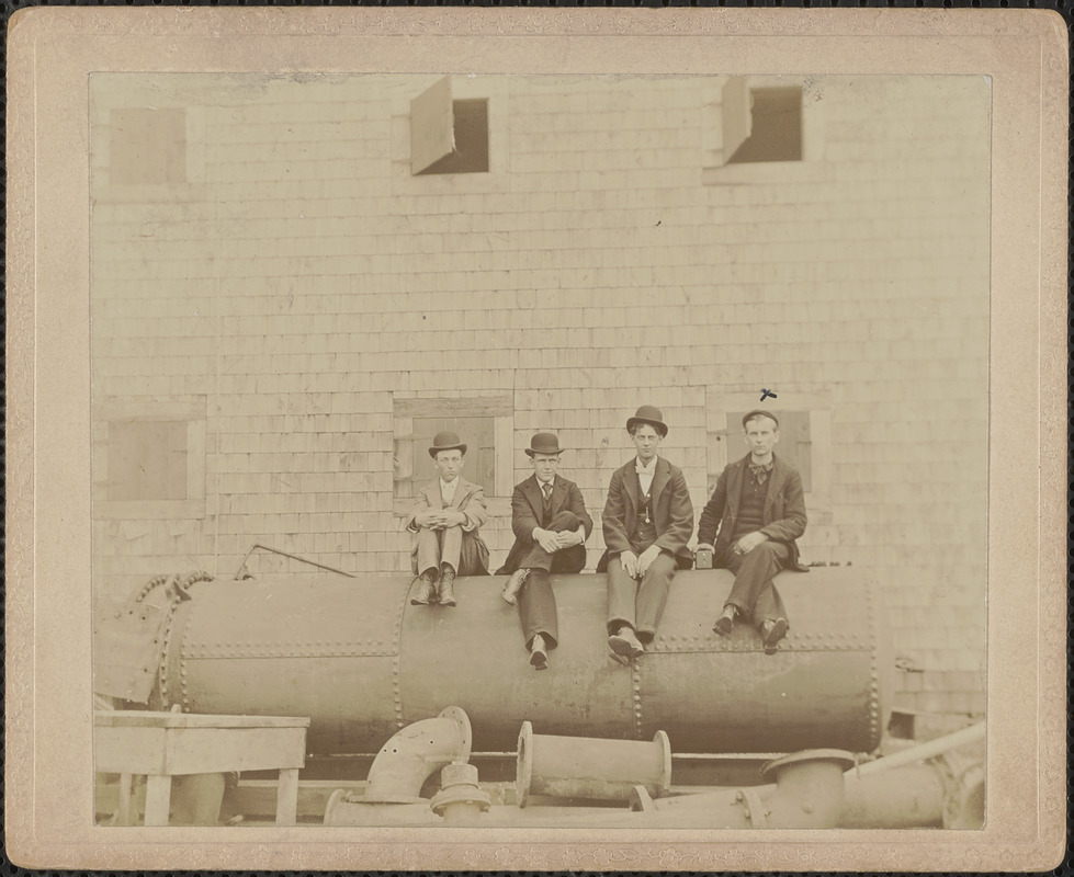 Ernest Allen, Ben Atwood, Frank Frost, Fred Rand