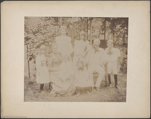 Gen. A. W. Greely and family