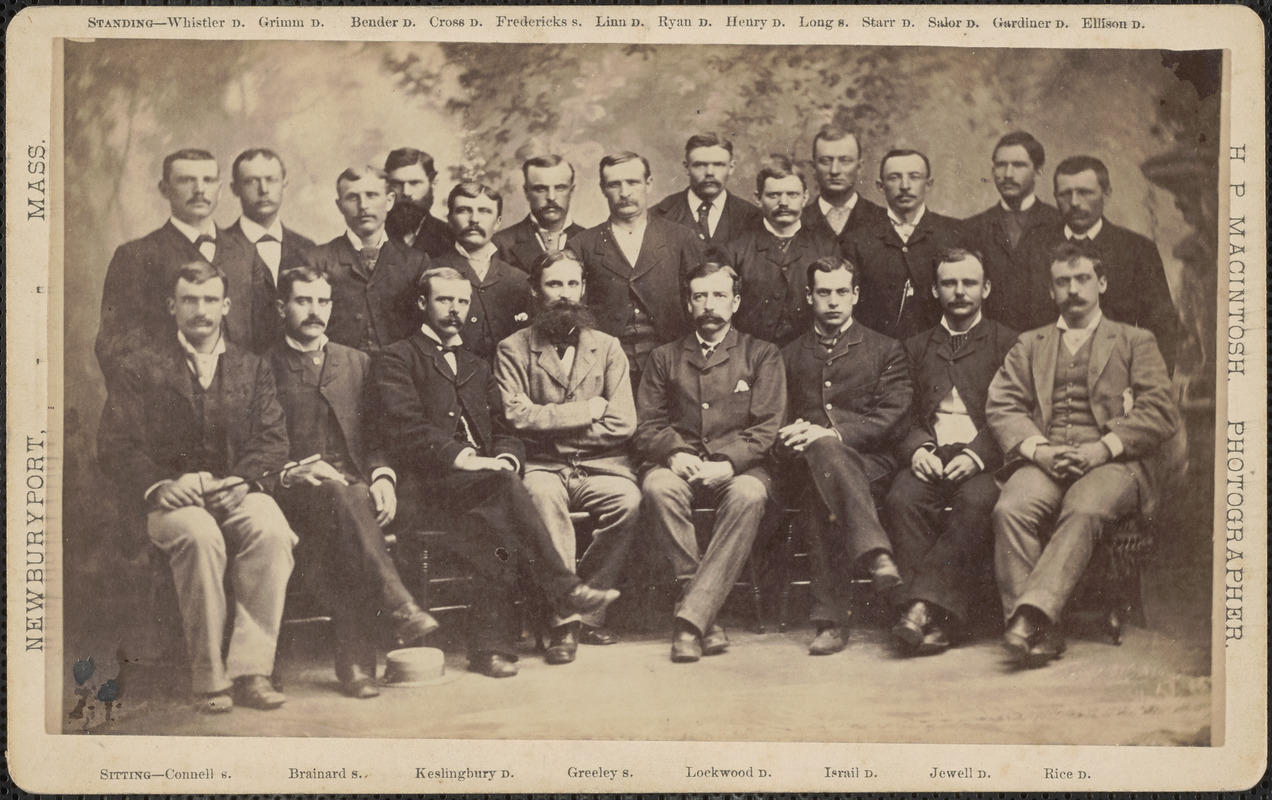 21 of the 25 members of the Greely expedition of 1881