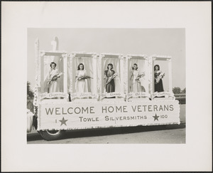 Welcome home veterans, Towle Silversmiths