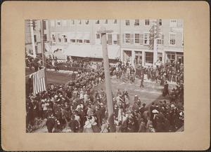 Parade on State Street, April 1895