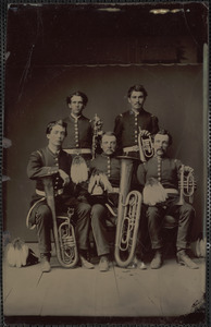 Band, W.H. Gould standing right