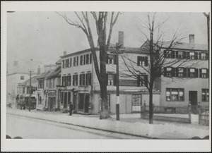 Buildings on High St. between Summer and Winter Sts. before 1934