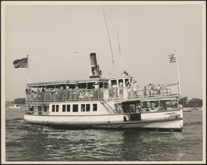 Steamboat Sabino gave tours on Merrimac River from Salisbury to Newburyport 1968-1972