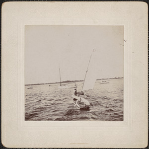 Voodoo, boat owned by Myron Currier, 1897