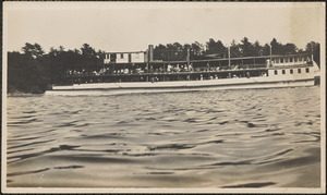 The Merrimac, Haverhill to Newburyport & Salisbury Steamer