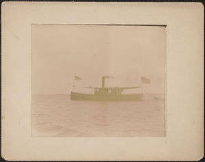 The Carlotta, a steamer associated with Plum Island