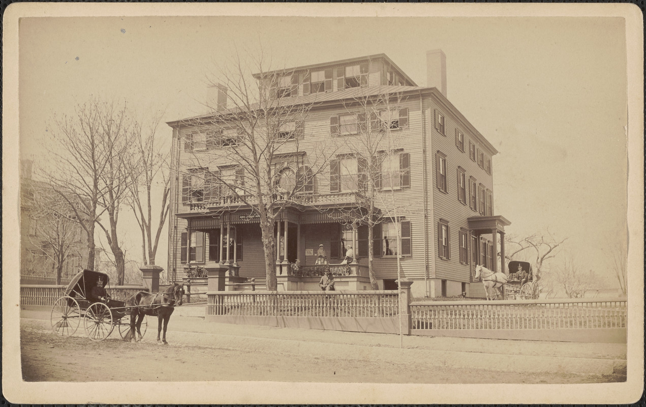 Anna Jacques Hospital, Broad St. 1890