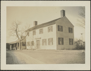 Old Roaf House, three roads, March 1935