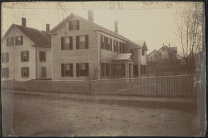 2 Greenleaf St. Newburyport, Sept. 1909