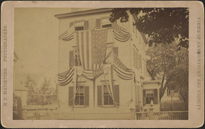 Unidentified Newburyport home, 1887?