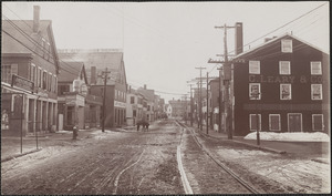 Merrimac St. up from foot of Strong St.