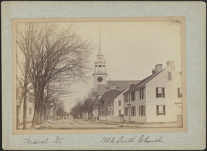 Federal St., Old South Church