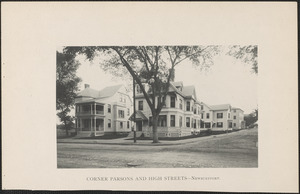 Corner Parsons and High Streets, Newburyport