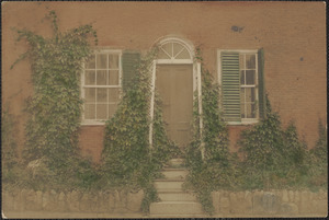 House at corner of Lime & Atwood St., doorway on Atwood St.