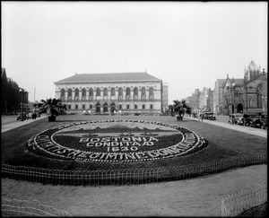 Copley Square and the library