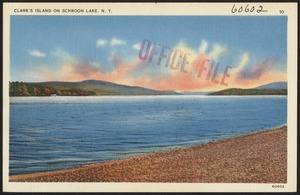 Clark's Island on Schroon Lake, N. Y.