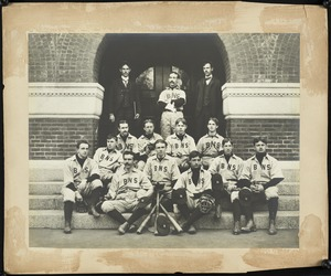 Bridgewater State Normal School baseball Team, 1899