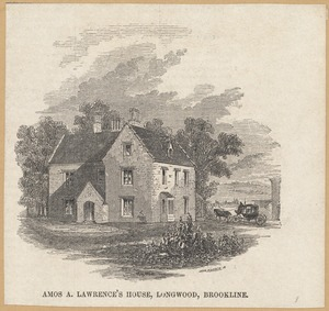 Amos A. Lawrence house, Ivy St.