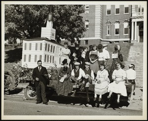 Old Fashioned Days, 1953: Lenox High School parade float