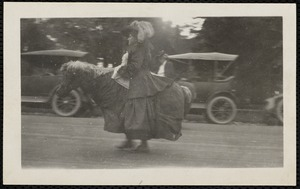 1922 4th of July Parade: Miss Kate Cary