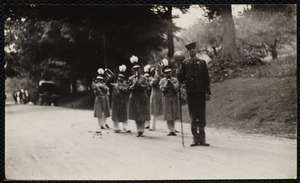 1922 4th of July Parade: Canary band