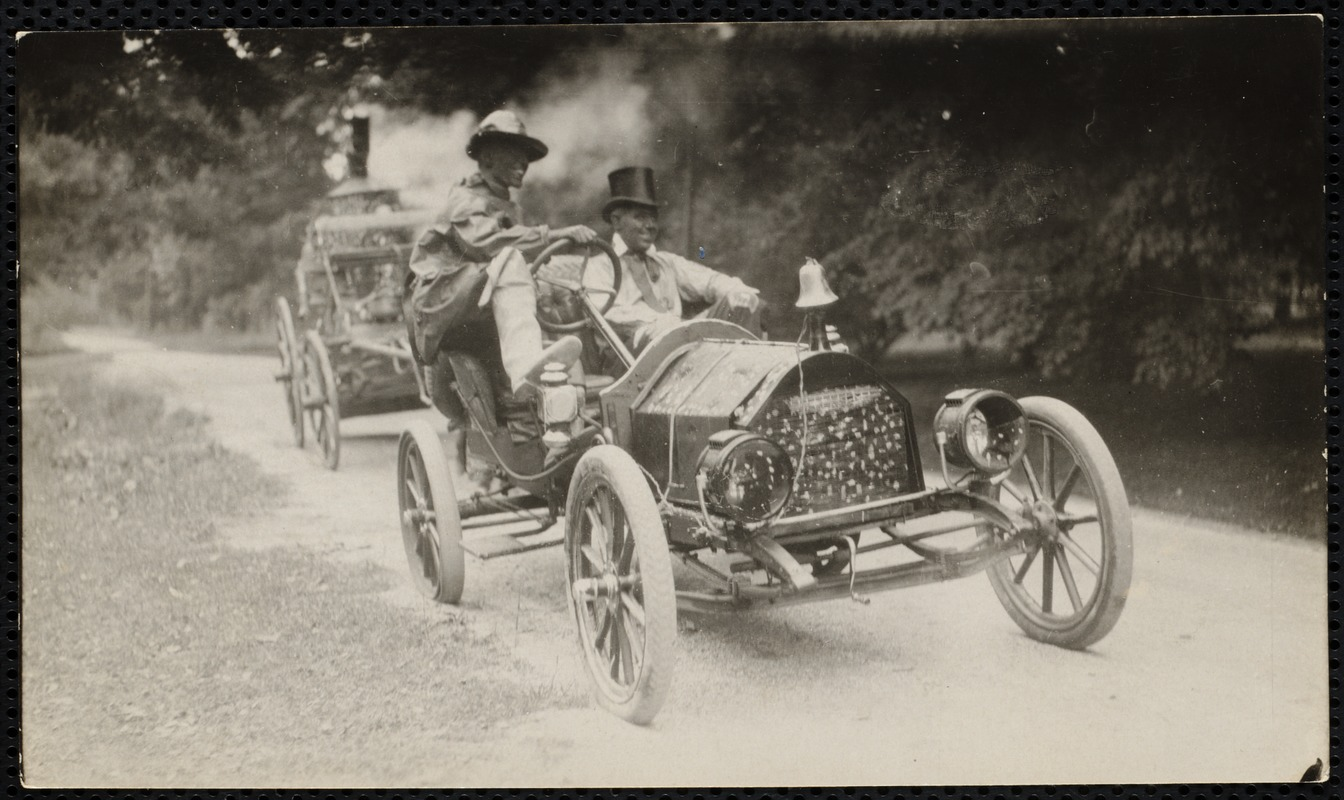 1922 4th of July Parade: Fire dept.