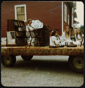 1977 4th of July Parade: Library Float