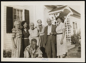 Kendall siblings & their families at Lamp-Post Farm in Lyme, N.H.
